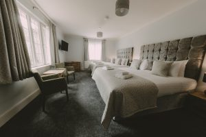 Bedroom 2 - Owners Residence Nant Ddu
